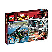 LEGO Super Heroes Iron Man: Malibu Mansion Attack 76007