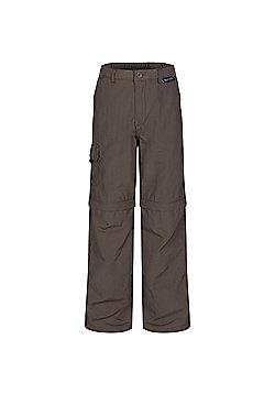 Regatta Kids Sorcer Zip Off Trousers - Brown