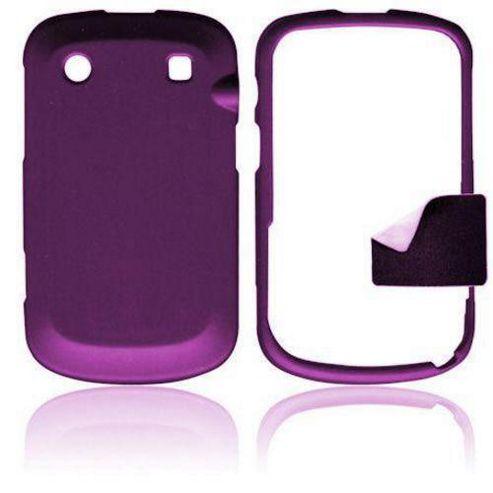 Blackberry Bold Touch 9900 U-Bop ShadowSHELL Case, Charcoal Purple