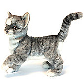 Hansa 20cm Grey Kitten Soft Toy