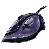Philips GC2048/80 Easy Speed Steam Iron - Black & Purple