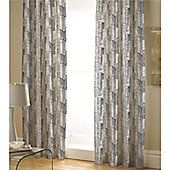 Catherine Lansfield Time Square 66x72 Fully Lined Curtains 168x183cm Multi