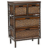 Safavieh Cutler 4 Drawer Storage Unit