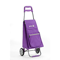 Gimi Argo 45 Litre Shopping Trolley, Violet Purple