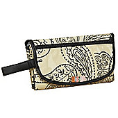 Isoki Change Mat Clutch Bag Retro Paisley