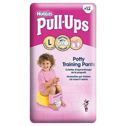 Half price on selected Huggies Pull-ups