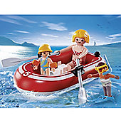 Playmobil Summer Fun Swimmers with Raft 5439