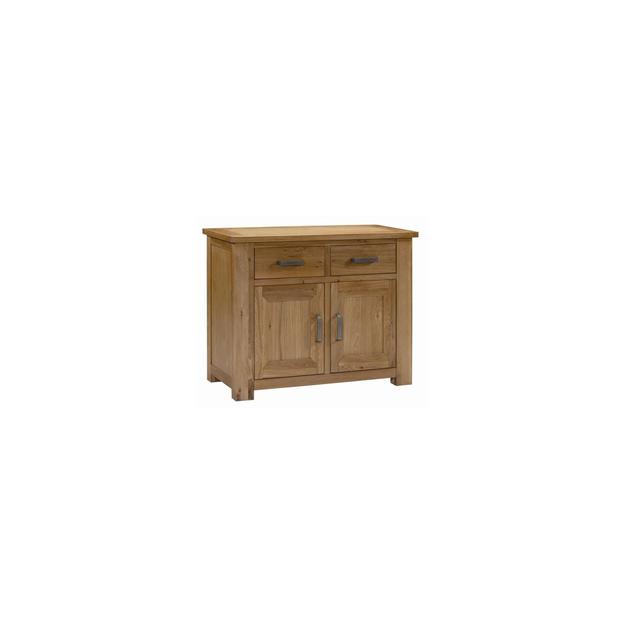 Kelburn Furniture Lyon Small Sideboard in Light Oak Matt Lacquer at Tesco Direct