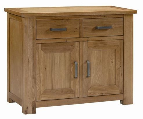 Kelburn Furniture Lyon Small Sideboard in Light Oak Matt Lacquer