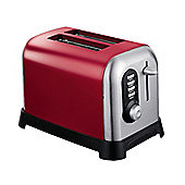 Sabichi 98696 Manhattan Toaster 2 Slice Red