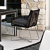 Varaschin Avalon Dining Armchair in Dark Brown by Calvi and Brambilla - Sun Cocco