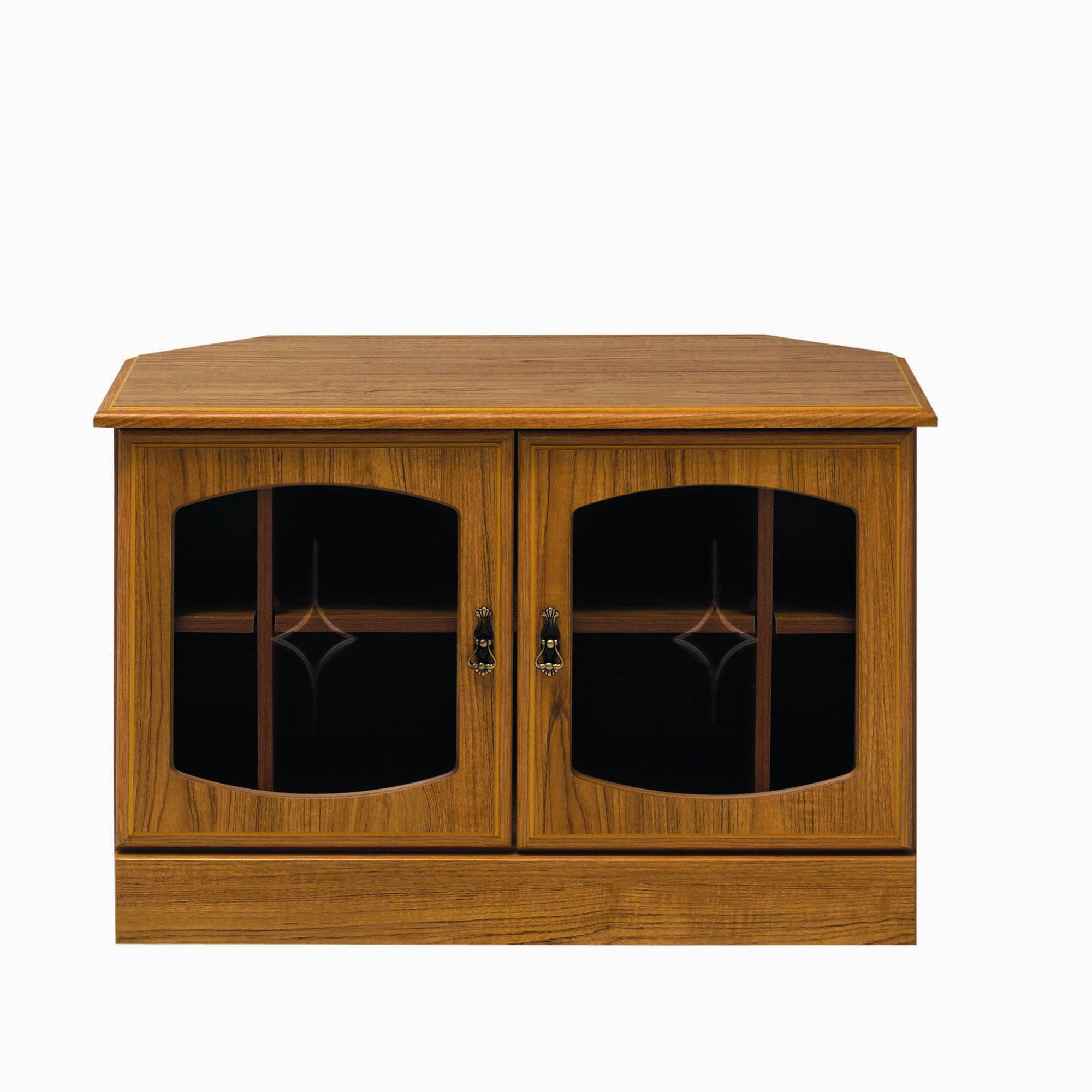 Caxton Tennyson Wooden Corner TV Cabinet at Tesco Direct