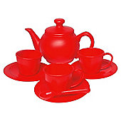 Red Toy Tea Set