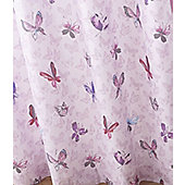 Catherine Lansfield Home Kids Glamour Princess Pink Cotton Rich Curtains 168x183cm