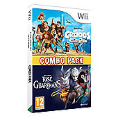 The Croods/Rise of the Guardians Double Pack (Nintendo Wii)