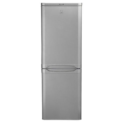 Indesit NCAA55S Fridge Freezer, A+ Energy Rating, Silver, 55cm