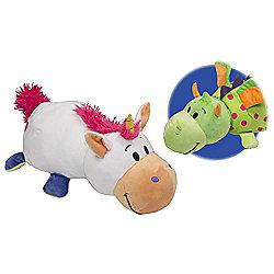 FlipaZoo Persephone Unicorn into Imogen Dragon