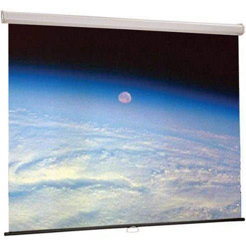 Draper Luma Manual Pull Down 16:9 73 inch HDTV Projection Screen - Matte White