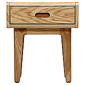 Stockholm Bedside Table - Solid Oak