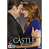 Castle Season 1-6 Box Set DVD