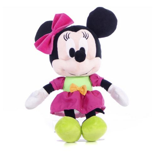 Disney I Love Minnie Mouse Pink & Green Party Dress 10