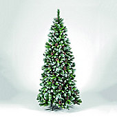 Snowtime Frosted Glacier Hook - On Chirstmas Tree - 210 cm H