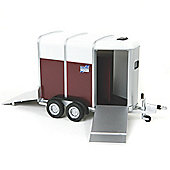 IFor Williams Horse Trailer - Scale 1:32 - Britains Farm