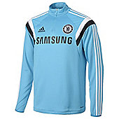2014-15 Chelsea Adidas Training Top (Blue) - Kids - Blue