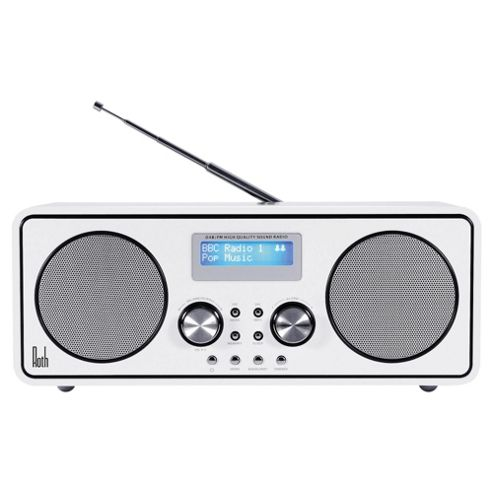 buy roth dbt 003 dab radio with bluetooth white from our clock radio range tesco. Black Bedroom Furniture Sets. Home Design Ideas