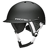 Protec Two Face Helmet - Matte Black