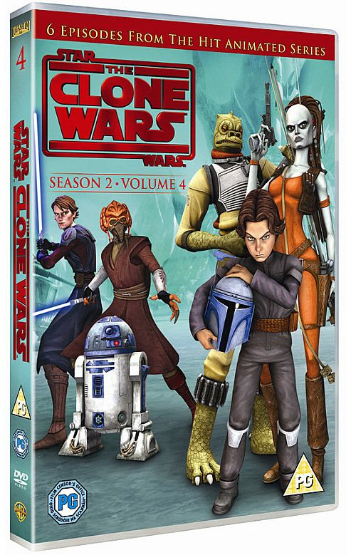 Star Wars - Clone Wars - Series 2 Vol 4 (DVD Boxset)