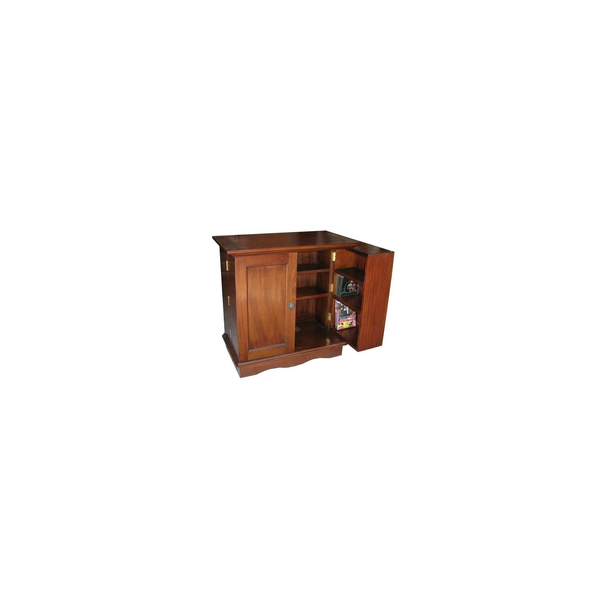 Lock stock and barrel Mahogany Media End Table in Mahogany at Tesco Direct