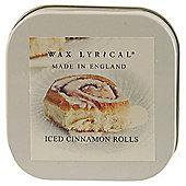Wax Lyrical Iced Cinnamon Buns Candle Tin