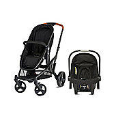 Mothercare Xpedior Four Wheel Base Pack- Black