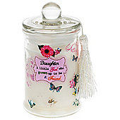 Daughter Floral Scent Candle in a Jar