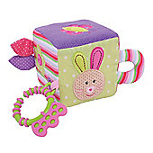 Bigjigs Toys BB503 Bella Activity Cube Soft Plush Toy