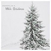 Photographic Snowy Tree Cards 10pk
