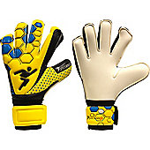 Precision Football Soccer Matrix Box Cut Wet And Dry Goalkeepers Gloves - White