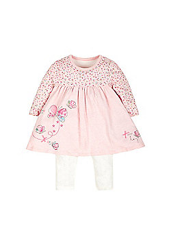 Mothercare Lovely Day Dress and Leggings Set Size new baby 7.5lbs
