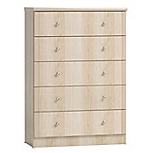 Furniture Link Tara 5 Drawer Chest