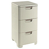 Curver My Style drawer units cream