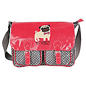 David & Goliath Pug Messenger Bag