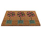 Gardman Rose Tree Doormat