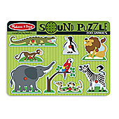 Sound Puzzle - Zoo Animals - Melissa & Doug