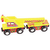 Bigjigs Rail BJT416 Crane Wagon