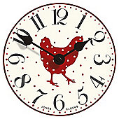 Jones Chicken Wall Clock
