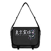 Tokyo Spirit Gosu Graphite Grey Messenger Bag 38x33x11cm