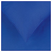 Tesco Housewife Pillowcase Cobalt Blue Twinpack