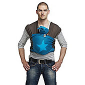 ByKay Medium Designer Baby Carrier (Petrol/Turquoise Star)