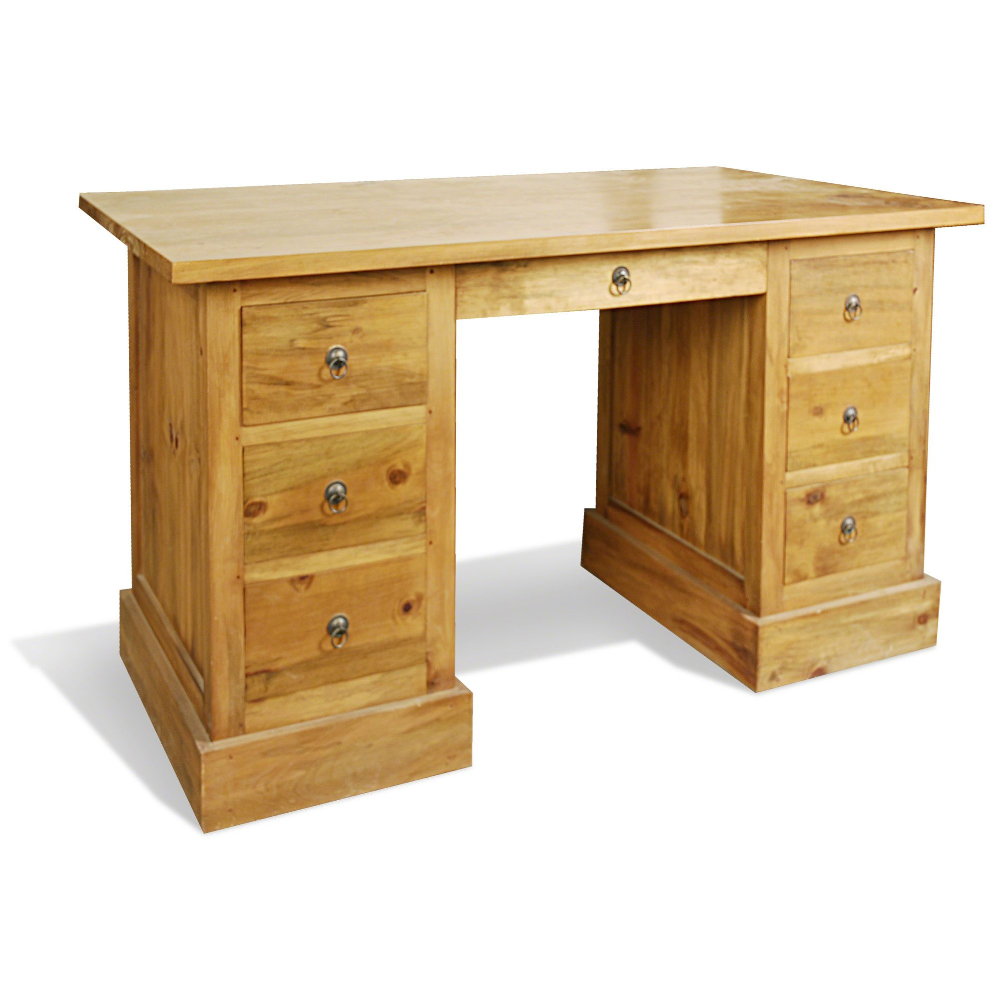 Oceans Apart Vintage Pine Writing Desk at Tesco Direct